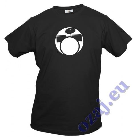 """Pánske tričko """"BICIE"""" čierne"""