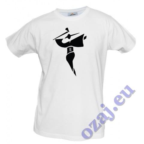 """Pánske tričko """"Jánošík"""" biele"""