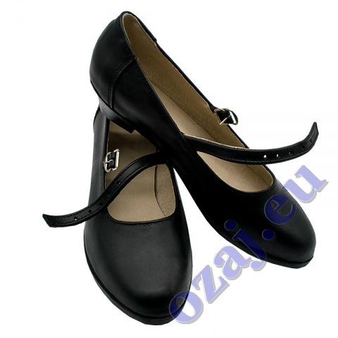 Ženské krojové tanečné topánky